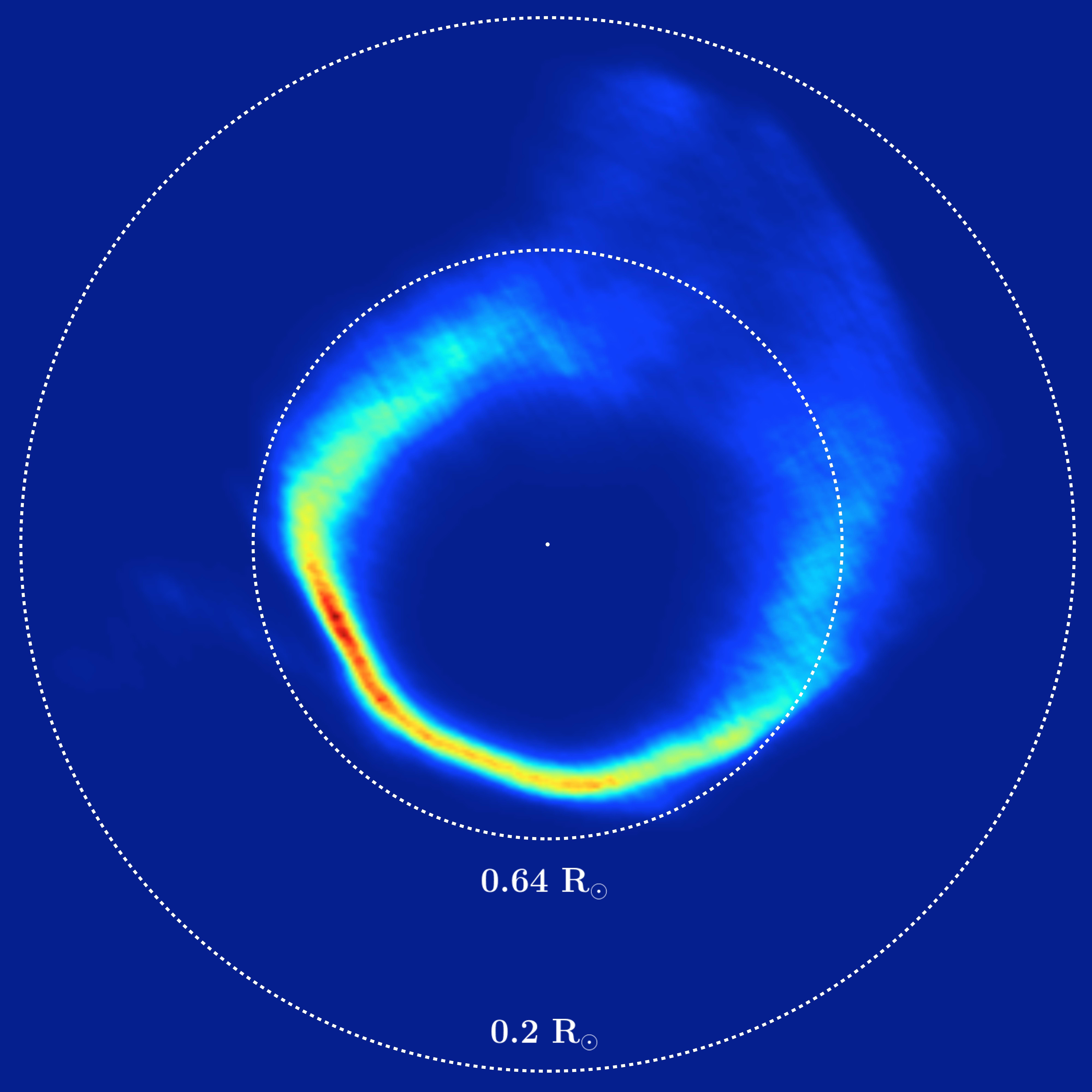 SDSS1228+1040 ringe