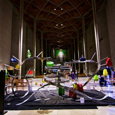 The I:DNA exhibition at Coventry Cathedral. Credit: David Fawbert/I:DNA/STAMP