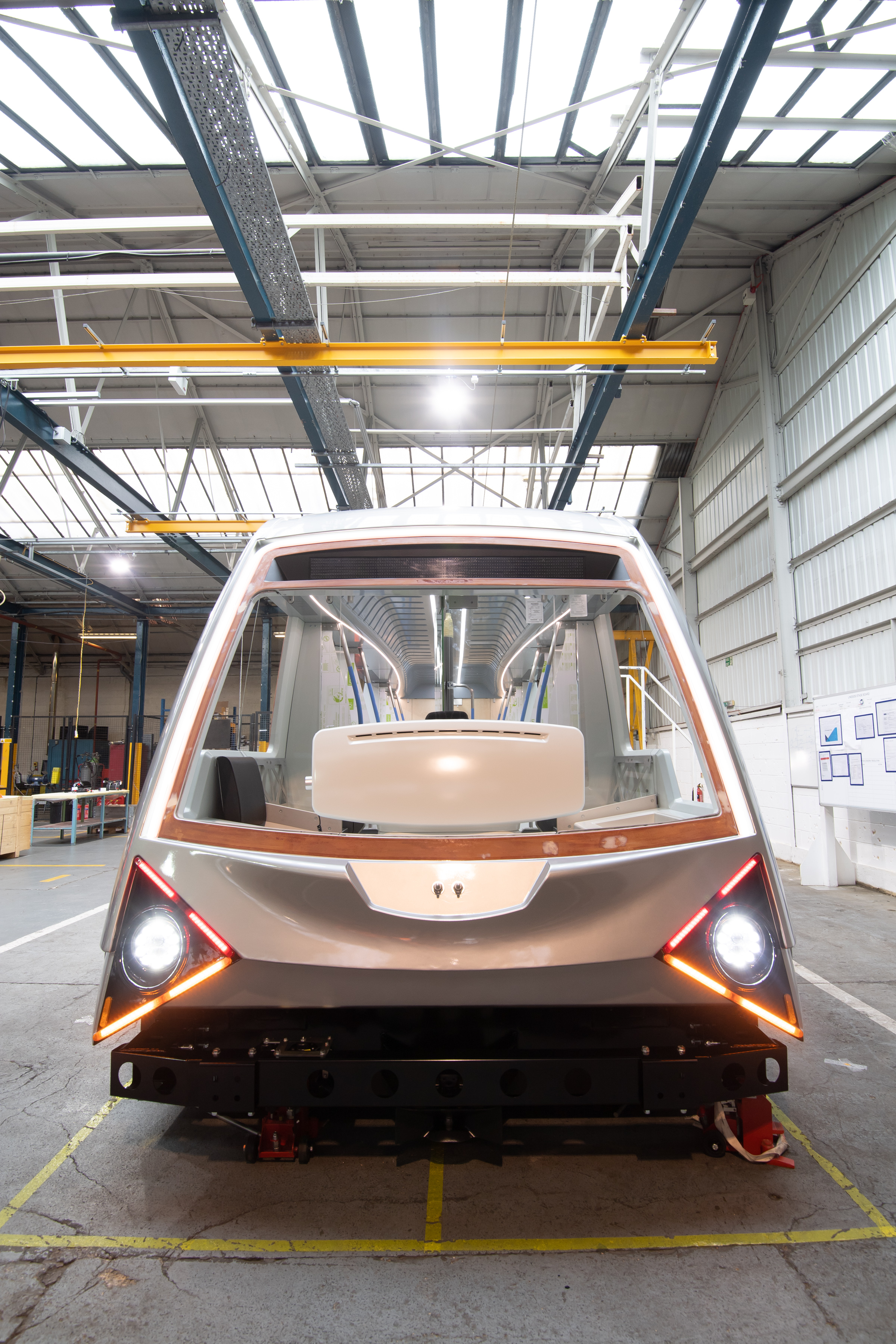 Newswise: Early construction of prototype innovative light rail vehicle for the City of Coventry