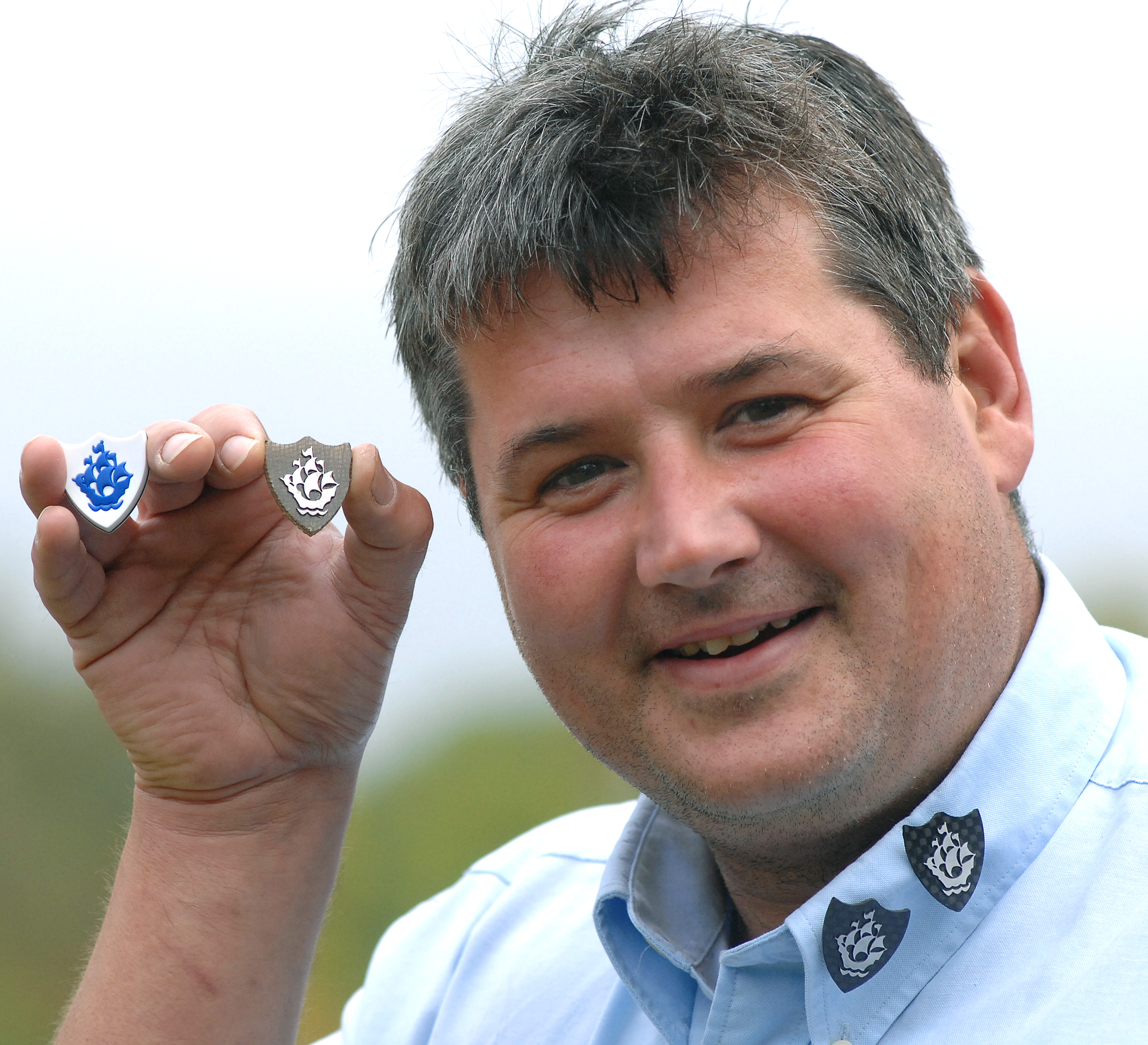 Blue Peter Badges Made From Eco Friendly Racing Car Technology