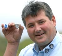 Dr Steve Maggs and Blue Peter Badges