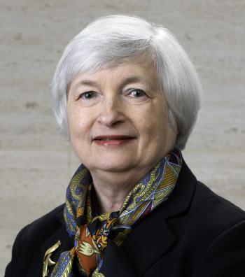 Federal Reserve Board Chair Janet L. Yellen