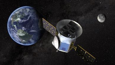 The TESS spacecraft