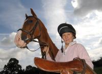 Deborah Butler and her horse