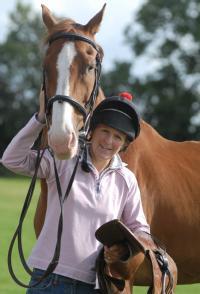 Deborah Butler and Horse
