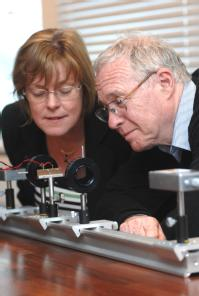 Professor Pam Thomas and Professor Mike Glazer  - University of Warwick picture