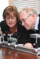Professor Pam Thomas and Professor Mike Glazer  - University of Warwick picture