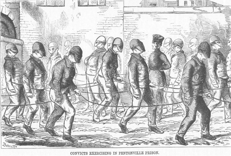 history of mental health in prisons