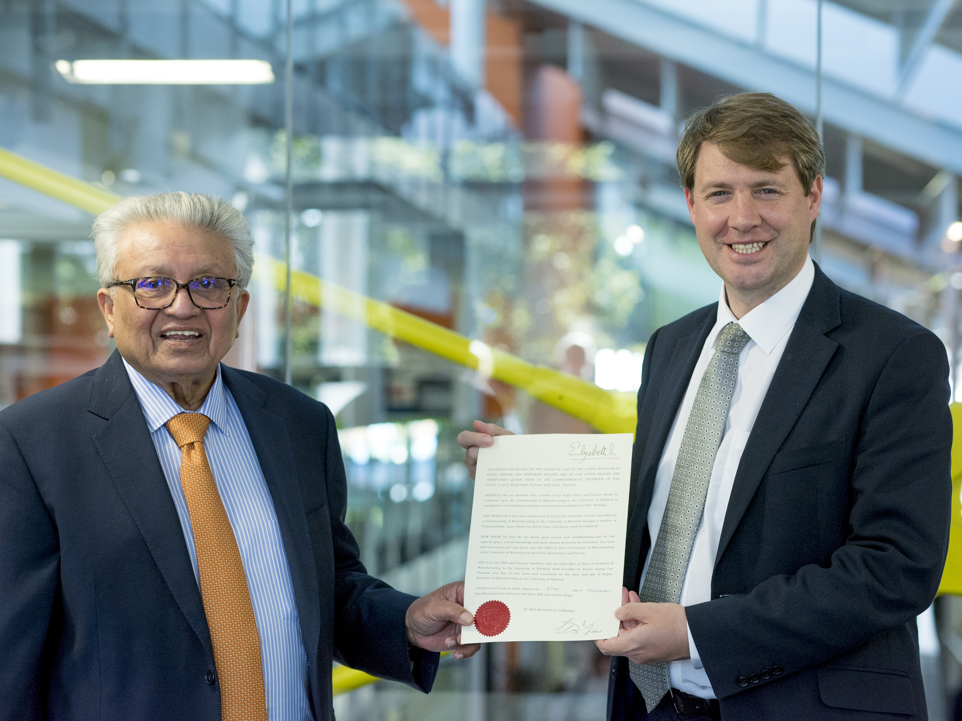 Minister For The Constitution Presents Wmg University Of Warwick
