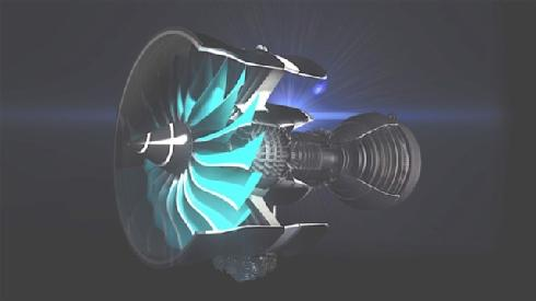 Gas Turbine Engine. Photo credit: Rolls Royce