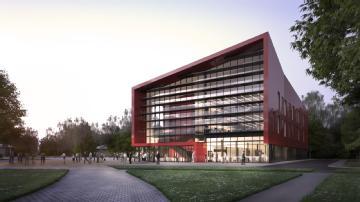 Artist's impression of the WMG Degree Apprenticeship Centre