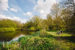Lake and woodland walks only a short distance away