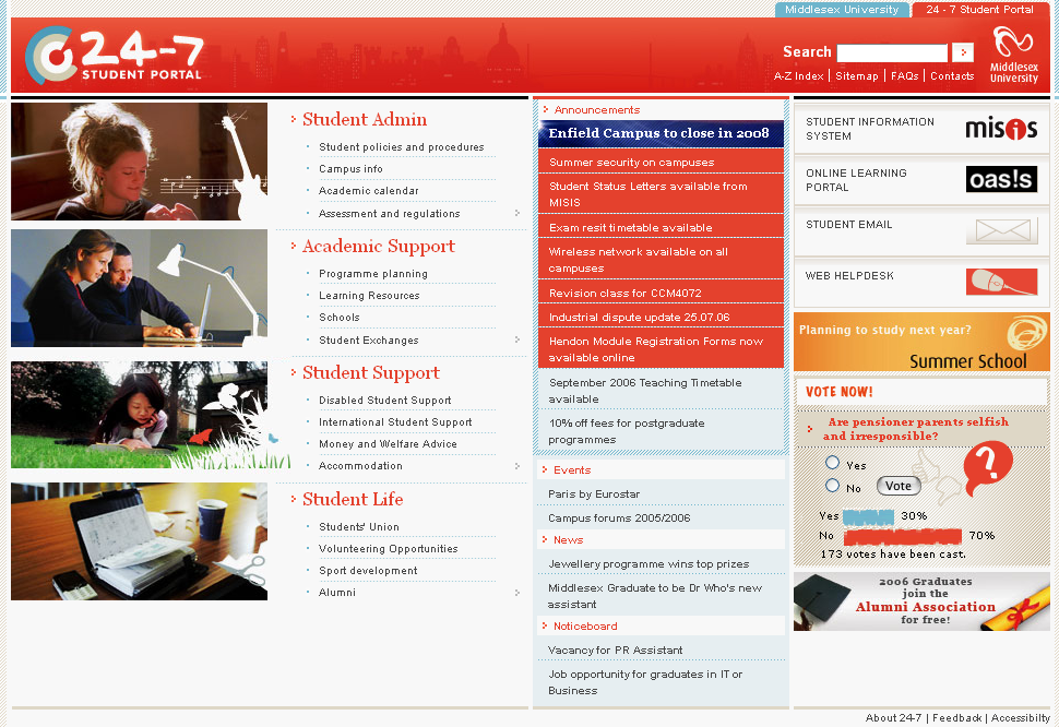 Warwick University Home Page