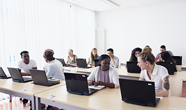 Image of classroom based training