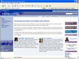 Intranet homepage 2006