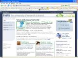 Intranet homepage 2007