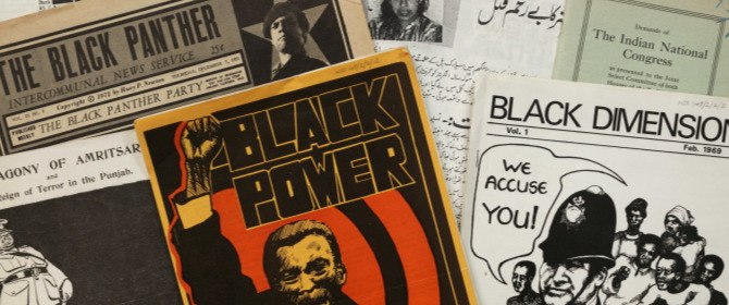 Images of political, social and economic pamphlets and magazines