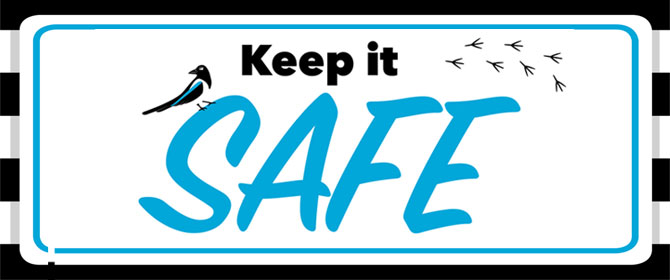 Keep it Safe promotional logo