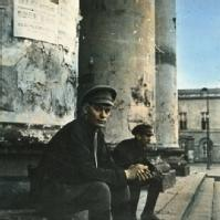Russian scene, shortly after the 1917 revolution