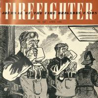 Firefighter: cover image of firefighters drinking tea