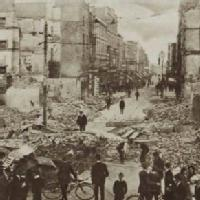View of Dublin after the Easter Rising