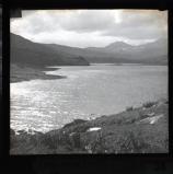 Aran, Snowdon & Llyn Mymber [Llynnau Mymbyr] from Capel Curig. W.Blunt