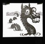 Illustration [Teggie, monster of Llyn Tegid]