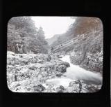 Miner's bridge from opposite side, Betws-y-Coed