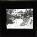Illustration of Mill Bay, Horsham. 1918