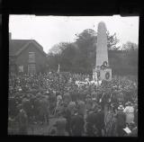 C.F.C. Memorial Service, Meriden Green, May 21 1922. W. Blunt. 1922