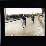 F.G. Frost, racing cyclist