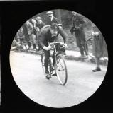 Racing cyclist, not identified