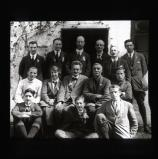 Lichfield enroute for Meriden. Wayfarer, Tom Hughes, [Kuklos?] and others posing in group photo