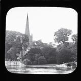 Stratford on Avon church and river