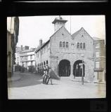 Ross on Wye - Market hall. c.1910