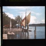 Boats, at Salo, Lake Garda. [Neville Whall]