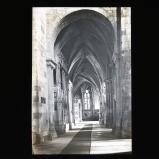 Aisle in church