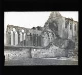 Cathedral ruins from exterior
