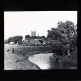 Tewkesbury Abbey from the battlefield