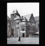 Cochem, old gate and inn