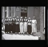 Girls in ordinary dress, Scheveningen