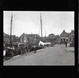 A girl called Tonia hanging washing, Scheveningen