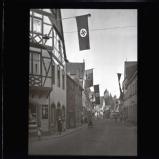 Nazi flags for Hitler's visit