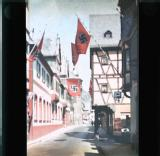Nazi flags in Bacarach