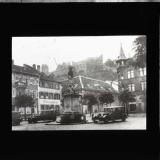 Heidelberg hostel and Ford cars