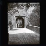 Heidelberg castle entrance