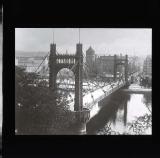 Suspension bridge, Prague
