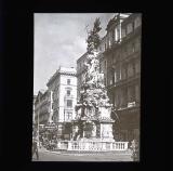 Ornate fountain near town hall, Vienna