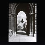 St Peter and St Pauls' church through archway