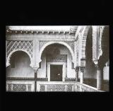 Corner of balcony, Alcazar